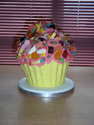 Giant Sweetie Cupcake