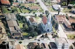 Vista aérea da Igreja N. Sra. da Medalha Milagrosa