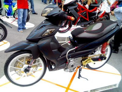gambar modifikasi suzuki shogun full air brush