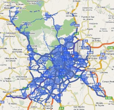 Ampliada la cobertura de StreetView en Madrid, Barcelona, Sevilla y Valencia StreetView-Madrid