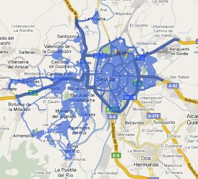 Ampliada la cobertura de StreetView en Madrid, Barcelona, Sevilla y Valencia StreetView-Sevilla