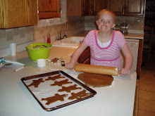 Making gingerbread Boys