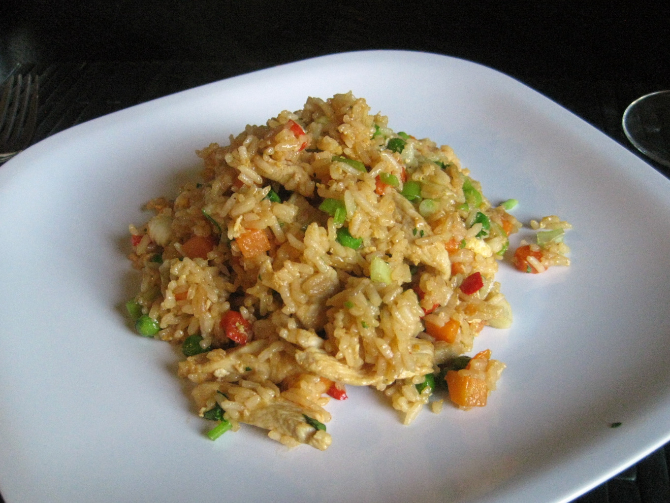 My Life On A Plate: Thai-Style Chicken Fried Rice