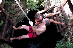Baixant a un Cenote