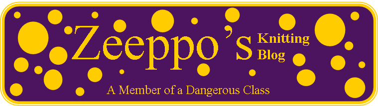 Zeeppo's Knitting Blog