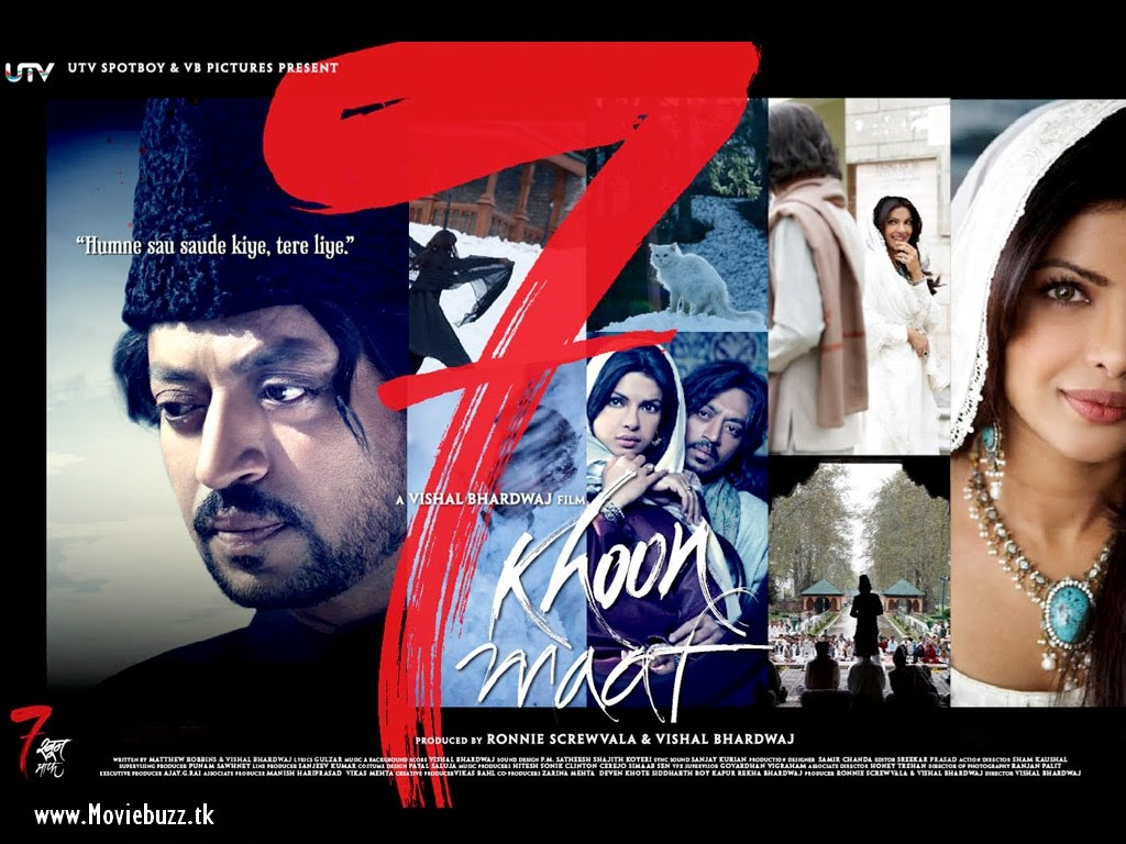 INDIAN CINEMA: 7 KHOON MAAF MOVIE WALLPAPERS