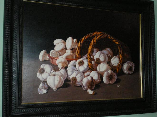 Ajos y champiñones