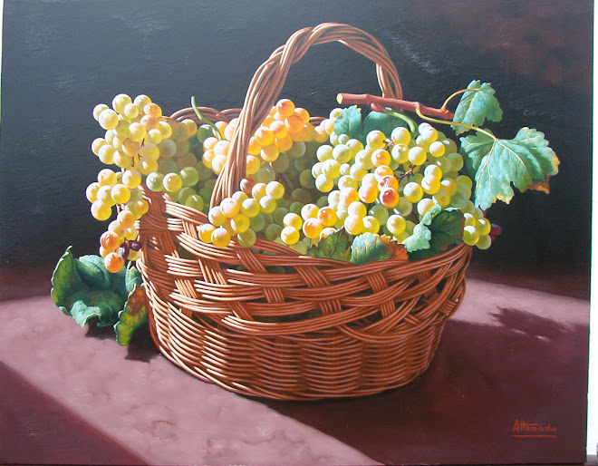 Canasta con uvas
