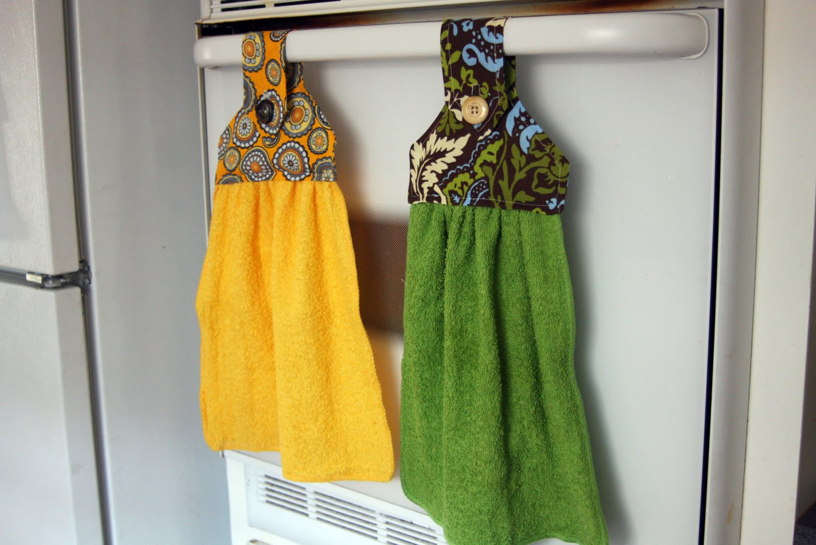 CROCHET PATTERN / Button Towel Ring Pattern by CROCHETBYMELISSA