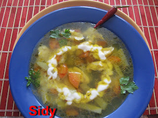 Articole culinare : Ciorba ardeleneasca de gulii