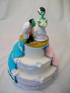 торта - Сватбената торта Funny+wedding+cakes+35