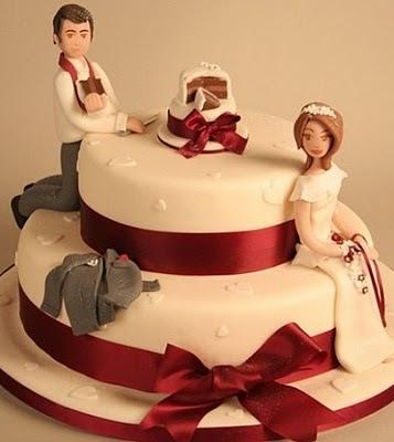 торта - Сватбената торта Funny+wedding+cakes+2
