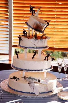 торта - Сватбената торта Funny+wedding+cakes+7