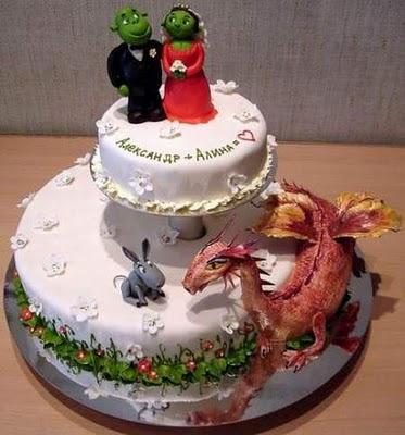 торта - Сватбената торта Funny+wedding+cakes+18