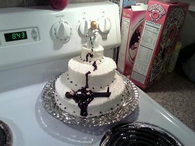 торта - Сватбената торта Funny+wedding+cakes+32