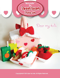 Sweet heart picnic set