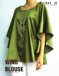 Fabulous wing blouse