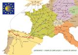 Caminos en Europa