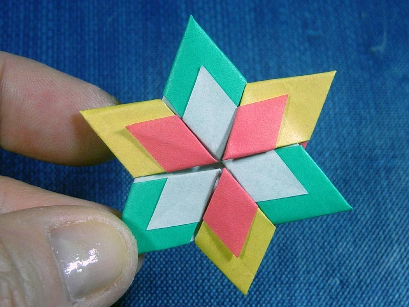 down to earth creations origami star of david