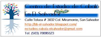Centro de Estudio de Cabalá BB El Salvador