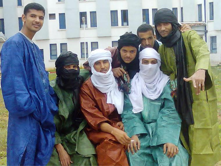 Les etudiants touareg en Algerie
