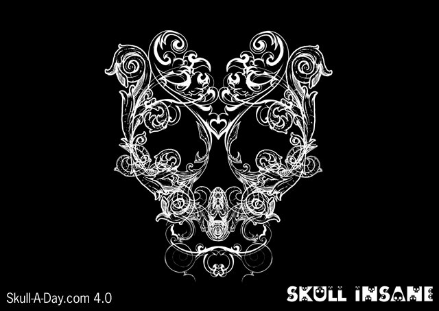 Image Result For Psychedelic Skull Coloring