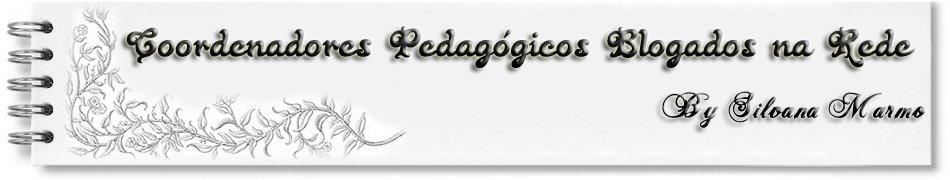 COORDENADORES PEDAGÓGICOS BLOGADOS NA REDE