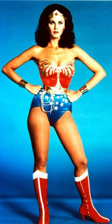 Homemade Halloween Costume Ideas - Wonder WomanHomemade Halloween Costumes For Women