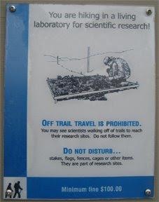 Stör inte forskarna!