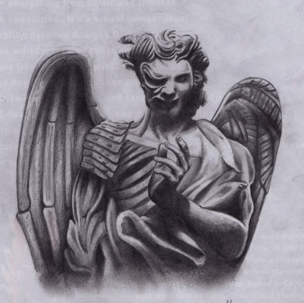 angels vs demons war tattoo - photo #32