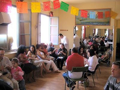 Comida de la Casa de México en Málaga el 20/05/07