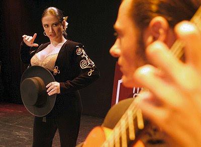 Elia Domenzain en ''La Torera, la cogida y la muerte''