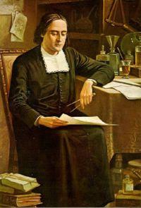 Padre Bartolomeu de Gusmão - tela de Benedicto Calixto