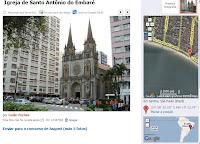 Clique para ir até o Site Panoramio e ver a Igreja do Embaré
