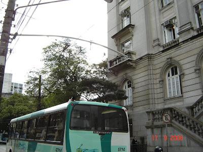 Suporte de fiação de trólebus - Santos - SP - Foto de Emilio Pechini em 17/09/2008