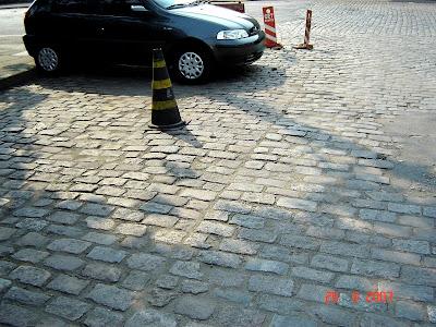 antiga travessa S.M.T.C., atualmente rua José do Patrocínio junto à Guarda Portuária, próximo à rua Almirante Tamandaré Foto de Emilio Pechini