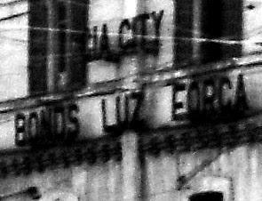 Letreiro da Cia. City Bonds Luz Força