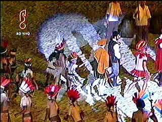 Captação de imagens da TV Santa Cecília em 19/01/2009