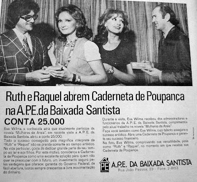 Reprodução jornal Cidade de Santos, 1973