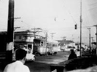 Foto arquivo pessoal de Emilio Pechini. Autoria: Franco Leone Caichiolo - Avenida Pedro Lessa em 1970