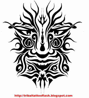 Faces designs for free tattoo flash