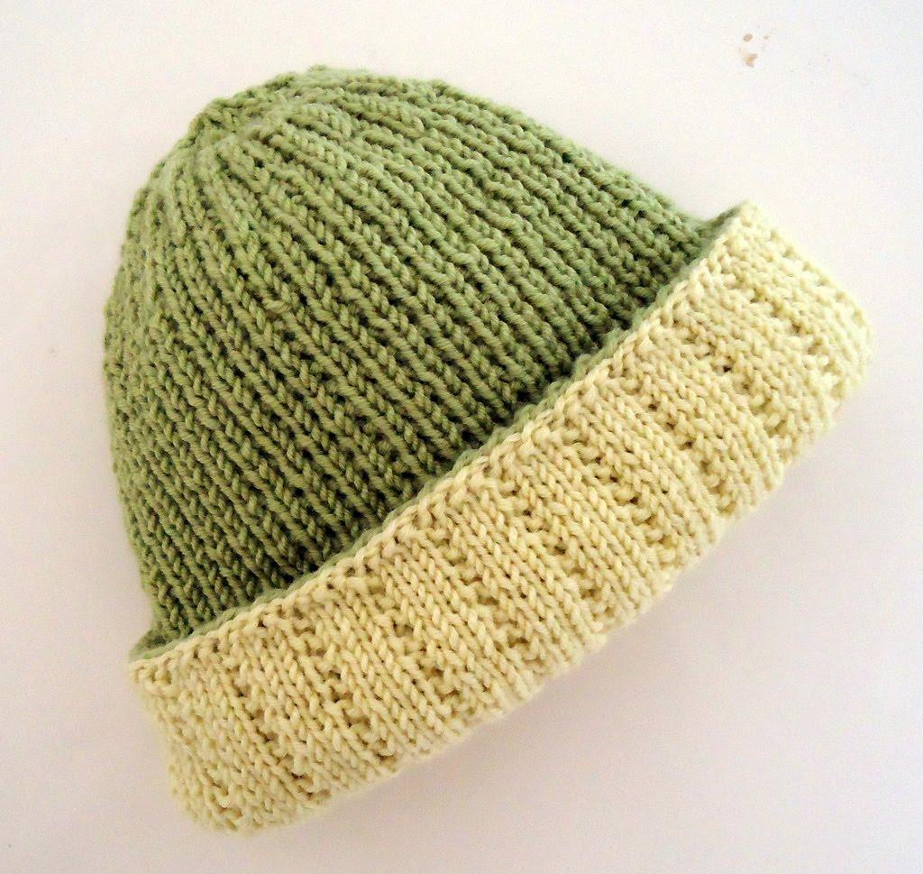 Pattern  Reversible Hat by Debbie Bliss Yarn  Debbie Bliss Baby Cashmerino 36822445cec