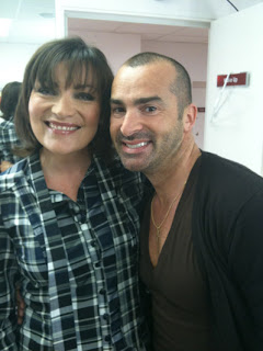 Lorraine Kelly and me