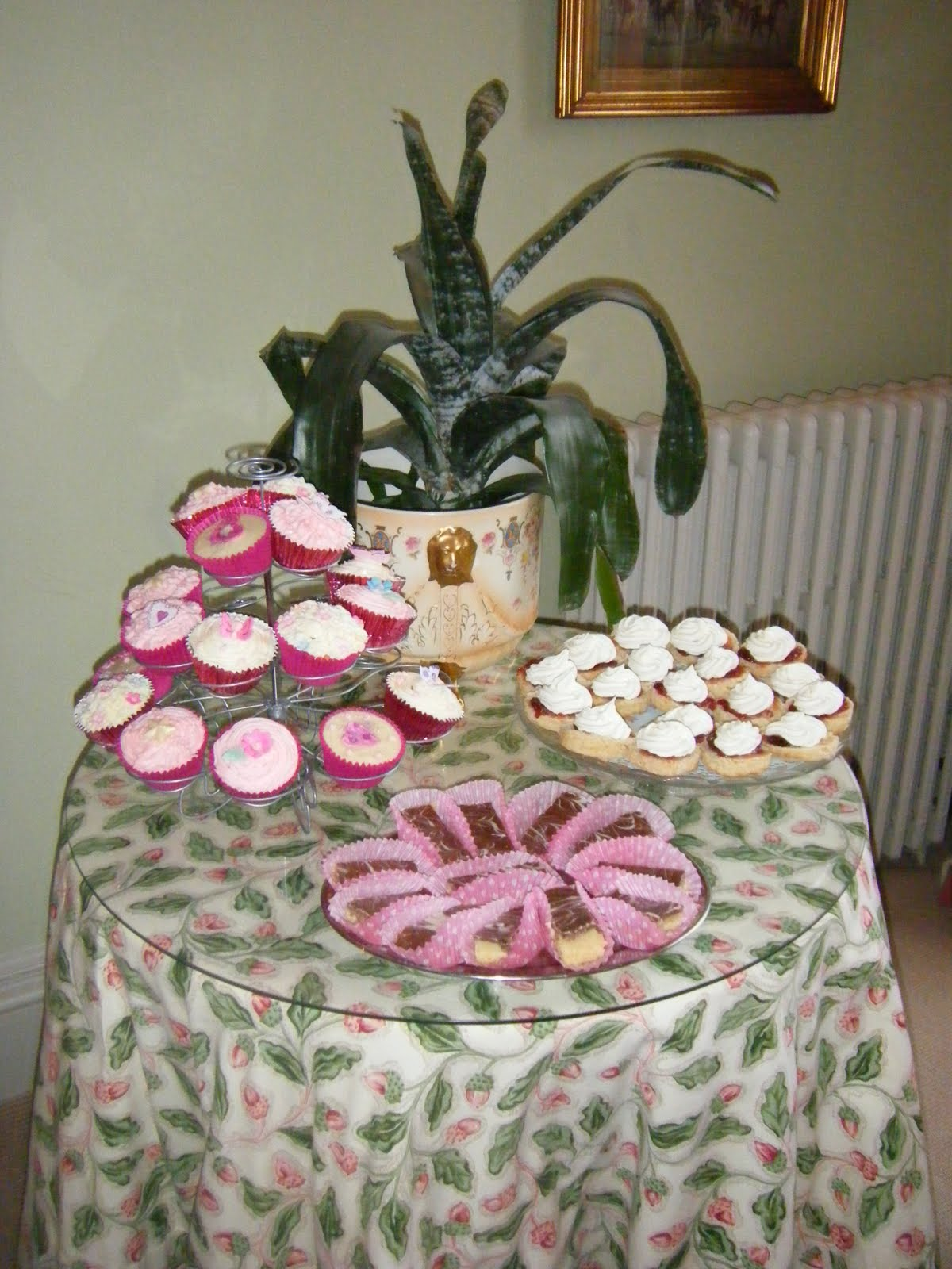 When we arrived the Hen party Naughty Cakes For Hen Party