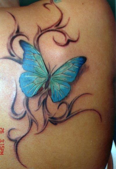 особенности тату надпись про бабочку предназначена