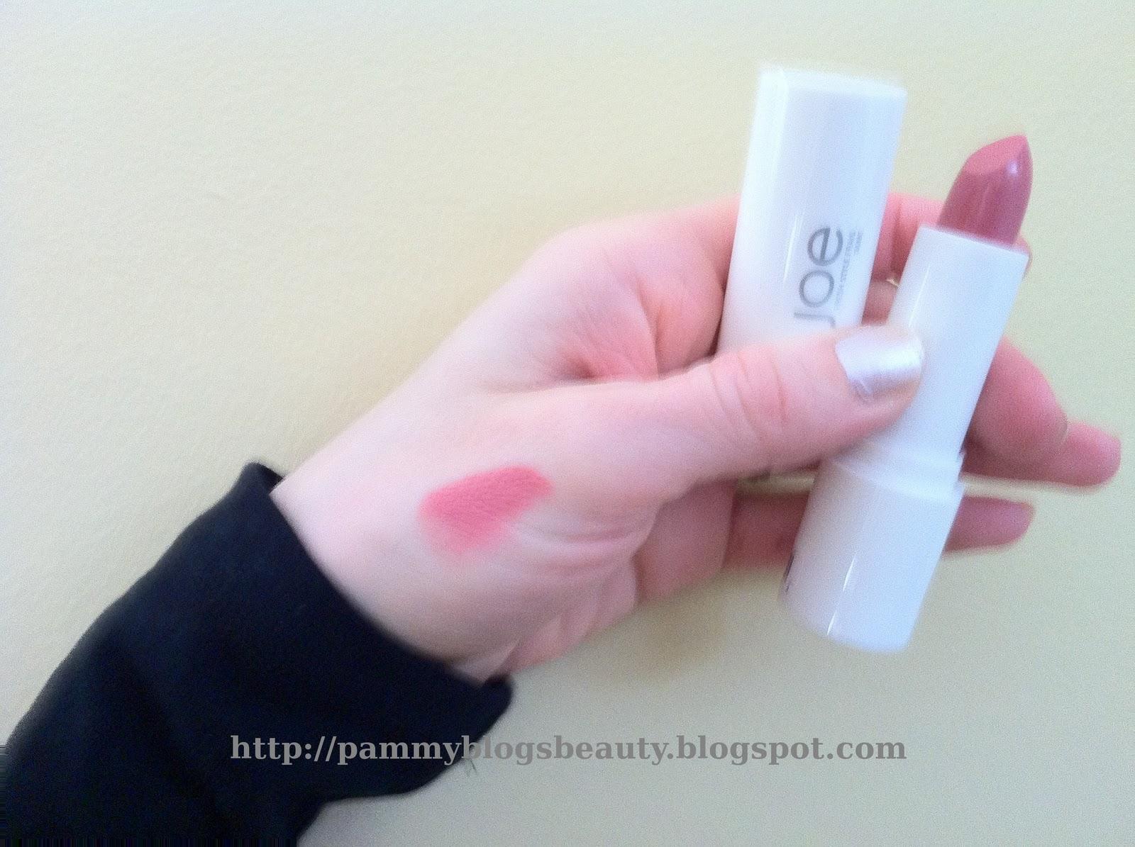 Pammy Blogs Beauty: Joe Fresh Style Cosmetics: Lipstick, Lipgloss ...