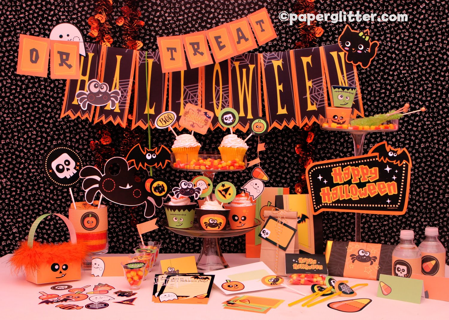 Halloween party kit for Where to have a halloween party