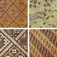 motif batik gambar