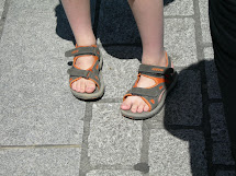 Boy Feet Sandals Toes