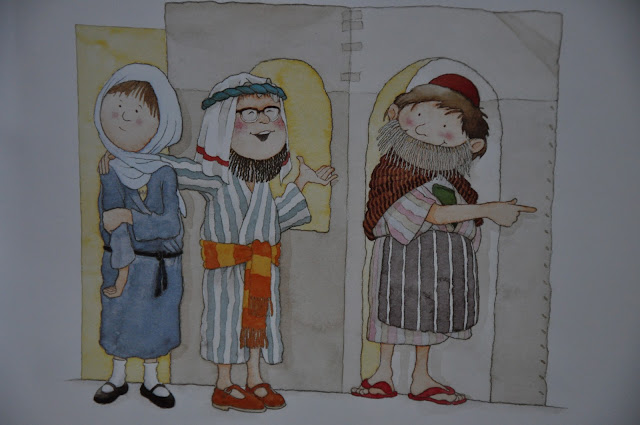 cats  dogs and eiderdowns  the nativity play